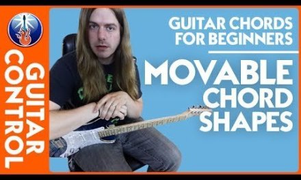 Guitar Chords for Beginners: Movable Chord Shapes | Guitar Control
