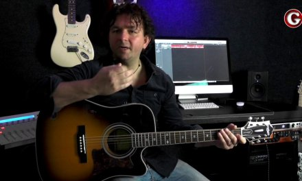 Your second guitar lesson –   moving between the chords – Guitar Couch Lessons