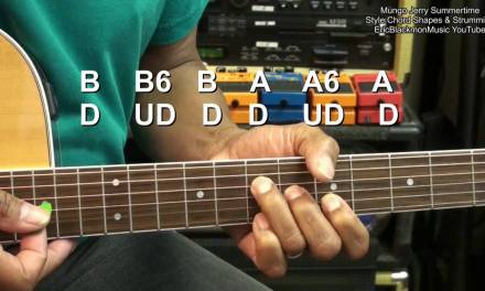 Mungo Jerry Style In The SUMMERTIME Chords & Strumming Tutorial EricBlackmonMusicHD YouTube