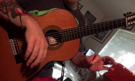 "Lesson on ""Everything Stays"" Guitar Arrangement by Chuck Allred"