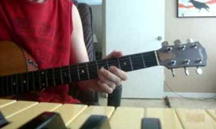 Default  Wasting My Time acoustic guitar lesson recap part1