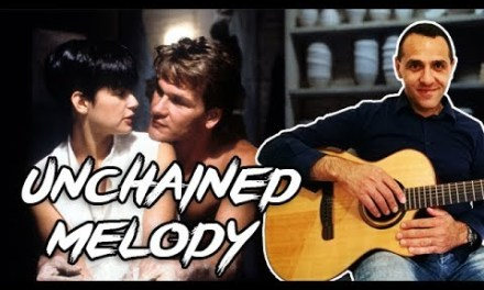 Unchained Melody (Ghost) – Easy Guitar Lesson – Righteous Brothers
