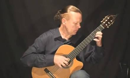 Modern Classical Guitar – Adagio in C-dur (Valery Litvinov – guitar)