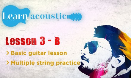 Acoustic guitar lesson for beginners (Hindi) – Class 03 B
