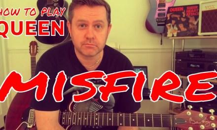 Queen – Misfire – Guitar Lesson (Guitar Tab)