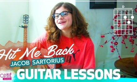 Jacob Sartorius – Hit Me Back | Easy Guitar Songs for Beginners & Chords (by Sophie Pecora)