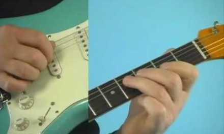 Guitar Lesson: Albert Lee Style Lick 2