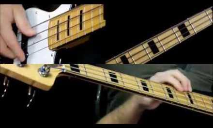 Autumn Leaves Bass Guitar Lesson – Basslines- Jazz Standard