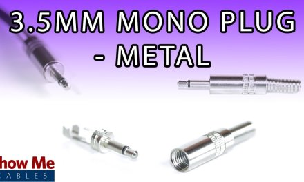 3.5mm Metal Mono Plug – DIY Project to Repair Your Audio Cable