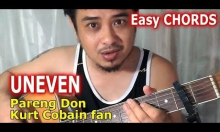 Guitar Chords: Dawin Uneven (capo 2) Easy How to Play Guitar Tutorial