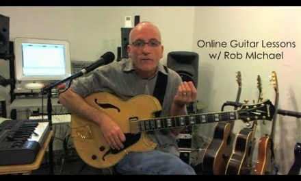 Guitar Lesson w/ Rob Michael: Diminished Scale