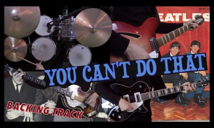 You Can't Do That – Backing Track + John's Solo