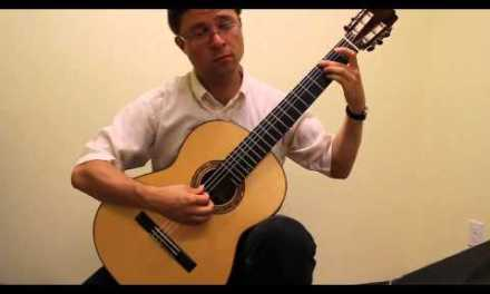 No. 19 – Scale Etude (alternating i,m) for Classical Guitar