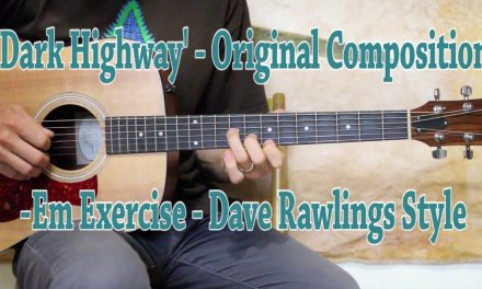Exercise in E minor – Dave Rawlings Style Guitar Lesson
