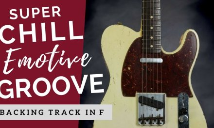 Super Chill Smooth & Groovy | Guitar Backing Track Jam in F