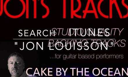"""Backing Track """"CAKE BY THE OCEAN"""" DNCE (minus guitar and vocals)"""