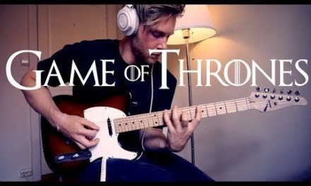 Game Of Thrones Theme – Electric Guitar Cover