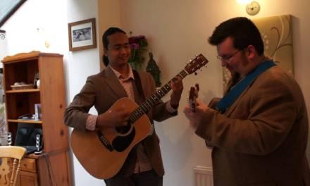 Echoes of Bangsar – Az Samad & Richard Moss (acoustic guitar & mandolin)