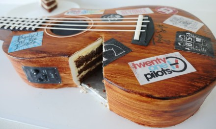 REALISTIC GUITAR CAKE How To Cook That Ann Reardon cake