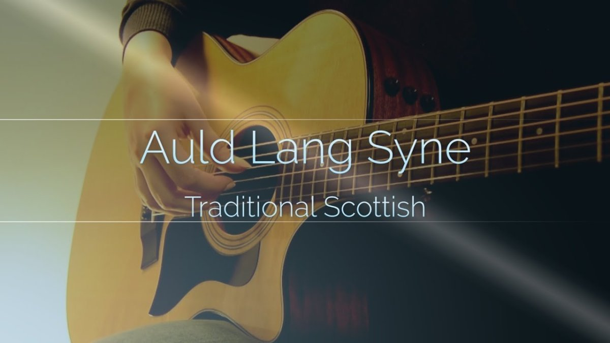Traditional Auld Lang Syne Fingerstyle Guitar Solo The Glog