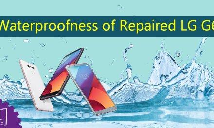 LG G6 Back Cover Reinstallation