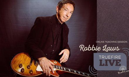 TrueFire Live: Robbie Laws – Chord Comping For Blues Guitar