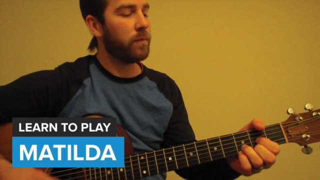 How To Play Matilda By Alt J Guitar Chords Lesson The Glog
