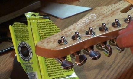 carvin bolt guitar set up & preps part 1of2