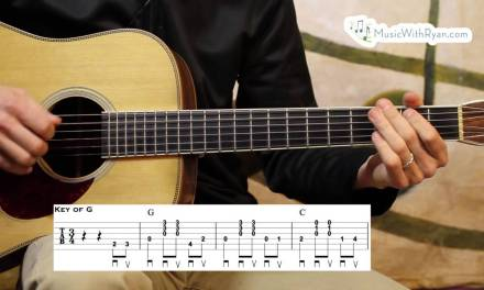 The Old Rugged Cross – Guitar Lesson