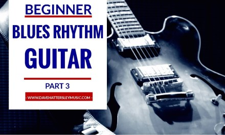 How to play Blues Rhythm Guitar – beginner guitar lesson part 3