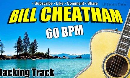 Bill Cheatham Fiddle Tune Backing Track – 60 BPM Play along guitar, mandolin, banjo, fiddle, bas