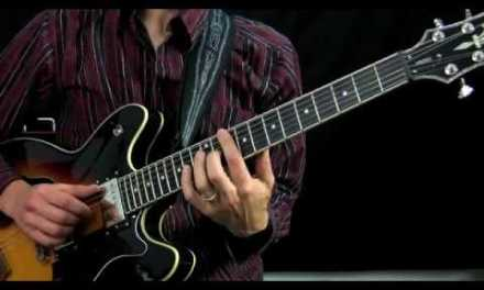 Blues Guitar Rhythm Lesson – Guitar Lesson.flv