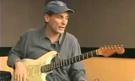 Blues Guitar Lesson – A Major and A Minor Licks.flv