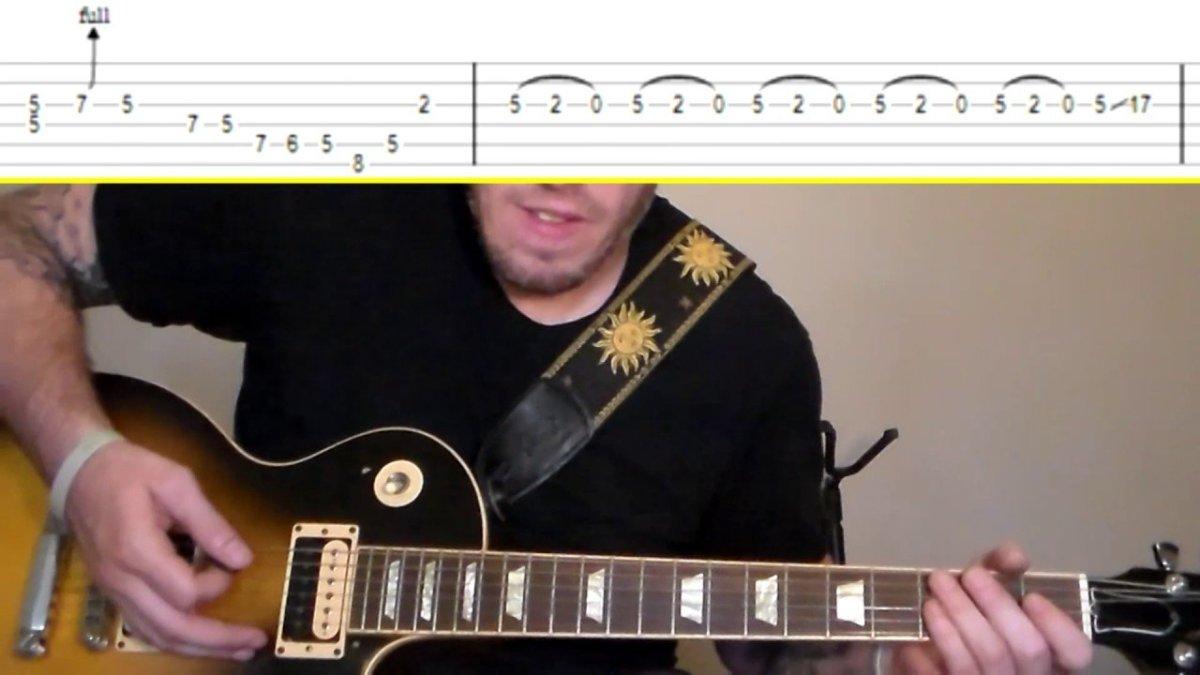 Kansas Carry On My Wayward Son Guitar Tutorial Wtabs The Glog