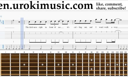 Guitar lessons Imagine Dragons – Rise Up Sheet Music Tutorial Part#2 um-i352
