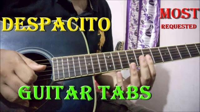 Despacito Guitar Tabs Lesson   Justin Bieber, Luis Fonsi, Daddy ...