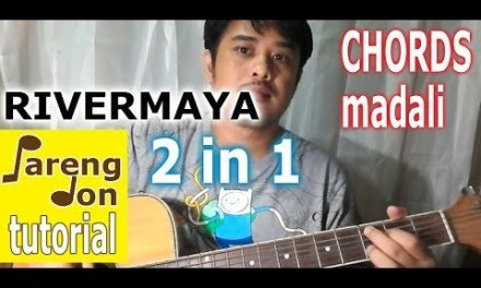 Rivermaya: Panahon na naman / Kisapmata chords – beginners guitar tutorial