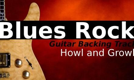 Heavy Blues Rock Backing Track Jam in Cm
