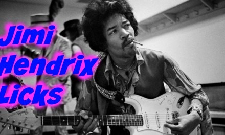 2 Jimi Hendrix Guitar licks ( Find the chord shape)