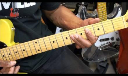 Guitar Chord Form Tutorial #225 Gorillaz Feel Good Inc Style Chord Shapes EricBlackmonMusicHD