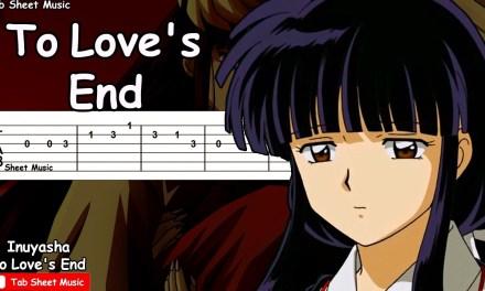 Inuyasha – To Love's End (Futari No Kimochi) Guitar Tutorial