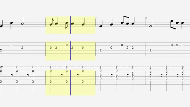 Guitar Tab Chords Shape Of You Acoustic Cover The Glog