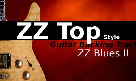 ZZ Top Style Backing Track Jam in Am