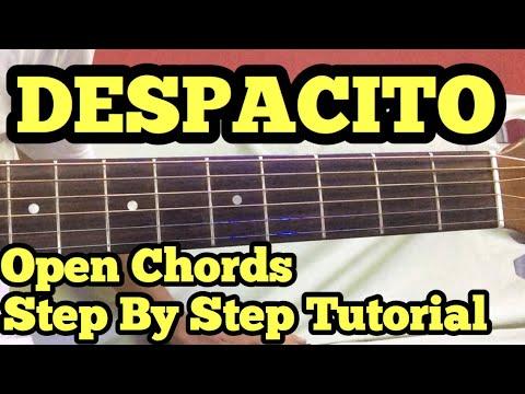 Despacito Guitar Chords Lesson in Hindi | Justin Beiber | Luis Fonsi ...