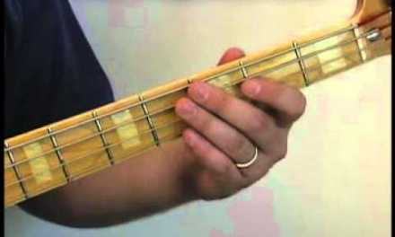 Bass Guitar Lesson – Country Style Walk on the Bass