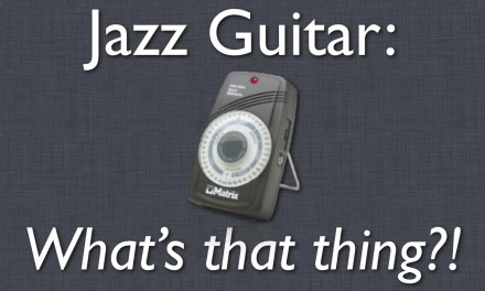 Jazz Guitar Lesson: How to use a metronome and work at different tempos – Beginner Lesson
