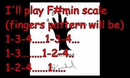 A1| Guitar Lesson 2 | How To Play Minor Scale | Only for Beginners