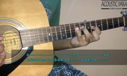 Tu Jaane Na Guitar Tabs/Lead Lesson | Ajab Prem Ki Ghazab Kahani | By Acoustic Imran