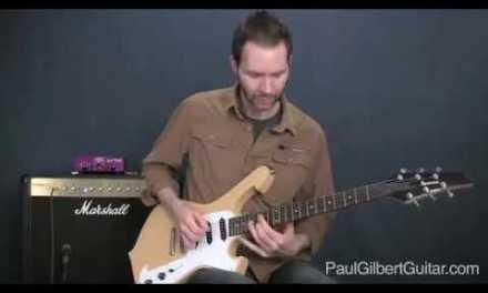 Rock Guitar with Paul Gilbert: Interval Blues Lick