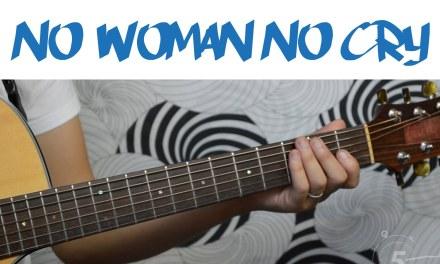 No Woman No Cry – Bob Marley | Easy Guitar Tutorial, Simple Chords and Strumming